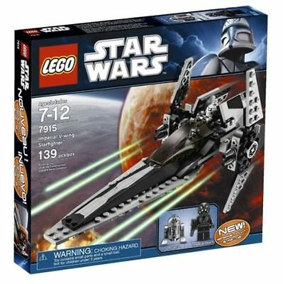 Lego Star Clone Wars 7915 Imperial V-wing Starfighter (Brand New)
