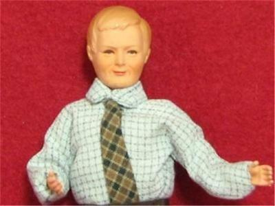 Dollhouse Dressed Asian Man Caco DHS1646 Flexible Japan Happi Coat Traditional