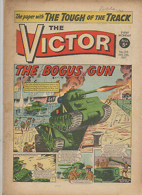 The Victor 313 Very Good 18Th Feb July 1967 Dc Thomson Silver Age Uk Comic