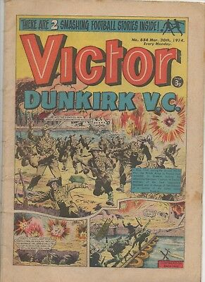 Victor 684 Very Good 30Th Mar 1974 Dc Thomson Uk Comic