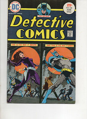 Detective Comics 448 Very Fine+ 1975 Dc Bronze Age Comic