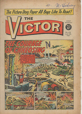 The Victor 434 Very Good 14Th June 1969 Dc Thomson Uk Comic