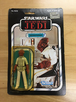 Star Wars Return of the Jedi Figure Admiral Ackbar Unopened MOC Kenner Rare 1983