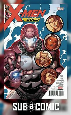 X-MEN GOLD #5 SYAF VARIANT (MARVEL 2017 2nd Print) COMIC