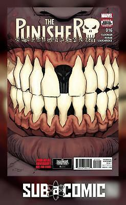PUNISHER #16 (MARVEL 2017 1st Print) COMIC