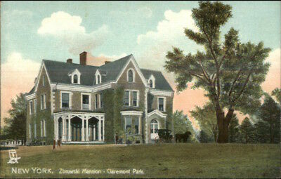 New York City Zbrowski Mansion Claremont Park TUCK c1910 Postcard