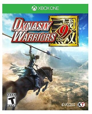 Dynasty Warriors 9 * Xbox One * Brand New Factory Sealed!