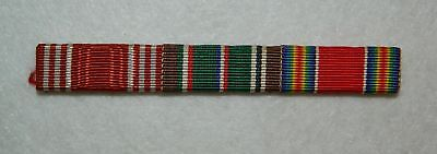 U.S. Army Uniform Ribbons ½ inch Wide Fabric Sew On Original WW2 Victory GC EAME