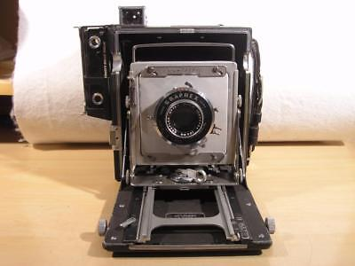 4x5 Crown Graphic w/135mm Optar lens and Grafloc back