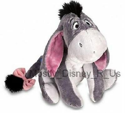 "New Disney Store Exclusive Grey Winnie the Pooh Eeyore Big 11"" Plush Toy Doll"