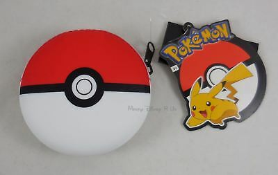 New Nintendo Pokemon Pokeball Poke Ball Silicon Zip Coin Purse Wallet