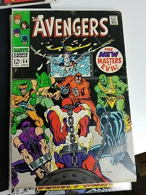 Avengers #54 Silver Age 1ST APPEARANCE ULTRON HUGE KEY ISSUE Scarlet Witch