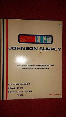 1983 JOHNSON SUPPLY Catalog - Air Cond. Houston - 550 Illustrated Pages