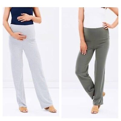 Bamboo Body Essential Pants suit maternity Size L (14) work casual soft & comfy