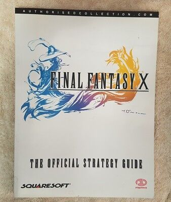 Final Fantasy X: The Official Strategy Guide by Piggyback (Paperback, 2002)