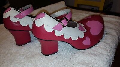 Professional-Clown-Shoes-Sz-8-9-Made-by-Official-Minnie-Mouse-shoemaker-LEATHER