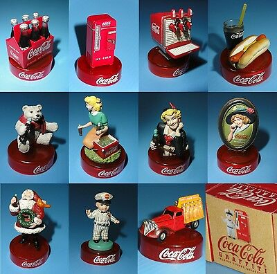 Coca Cola Japan Kaiyodo Graffiti Oldies Figure Collection Complete Set of 11