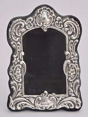 Repousse Sterling Silver Photo Frame - Ray Hall, Birmingham, 1995