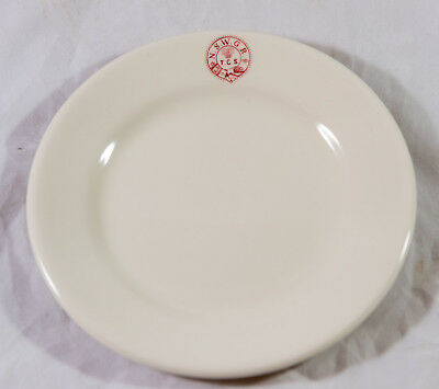 Nswgr Tcs Train Catering Services Side Plate Stamped In Red