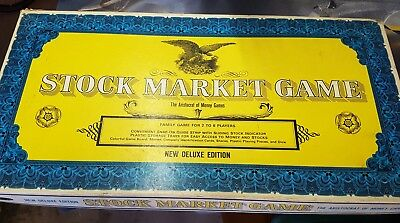 Stock Market board game - Western Publishing Company 1968