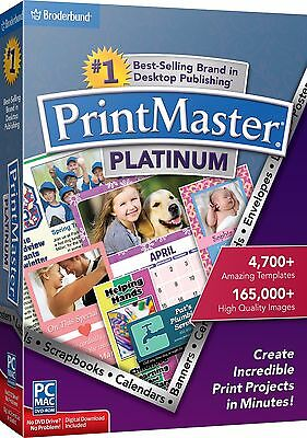 PrintMaster Platinum 7 PC & MAC