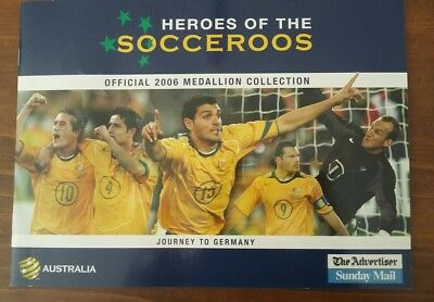 Heroes of the Socceroos Official Medallion Collection 2006 - Road to Germany.