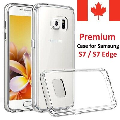 For Samsung Galaxy S7 Case - Clear Thin Soft TPU Silicone Back Cover