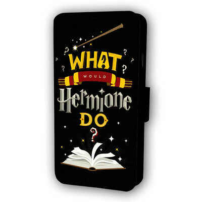 Harry Potter What Would Hermione Do Flip Style Phone Case With Card Holder