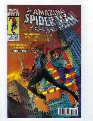 Now Renew Your Vows # 13 Lenticular Variant Cover Marvel Spider-Man NM 1st Print