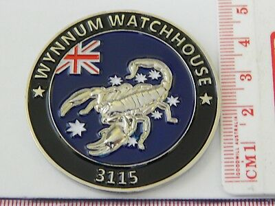Queensland Police Wynnum Watchhouse Challenge Coin Rare