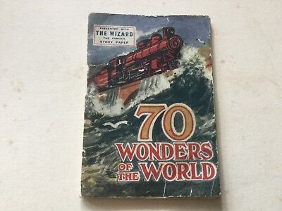70 Wonders Of The World Presented With The Wizard Magazine