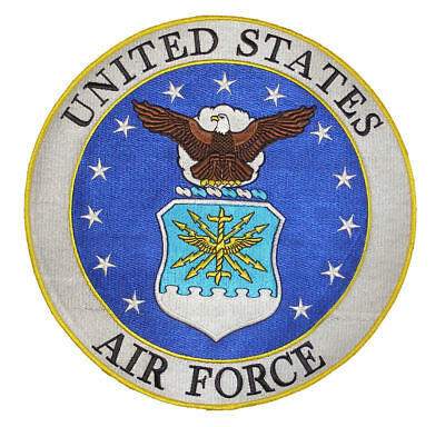 e46441f36 USAF AIR FORCE Logo Patch Od Olive Drab Green Subdued Airman Veteran ...