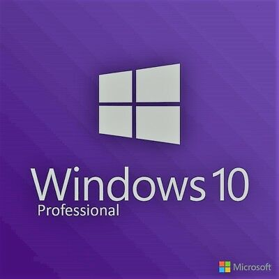 Windows 10 Pro Professional MS Microsoft Key Code Full Version Instant Delivery
