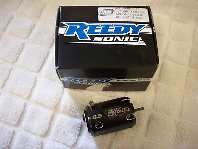 Reedy Sonic 6.5 Brushless Motor For Rc Car Used But Still In Box