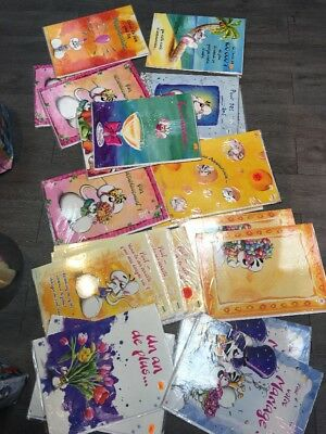 """22 maxi cartes postales doubles+ enveloppes  """"DIDDL""""   NEUF"""