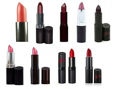 Rimmel Lipstick Lasting Finish / Kate Moss Pink Brown Purple Coral Red Mauve