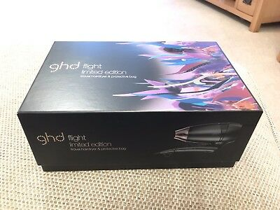 Ghd Flight Limited Edition Wanderlust Travel Hairdryer & Protective Bag NEW