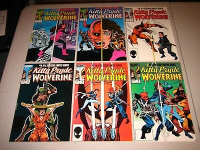 Kitty Pryde and Wolverine 1-6 VF+
