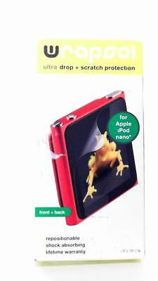 WrapSol Ultra Drop & Scratch Protection For iPod Nano Shock Absorbing Front/Back