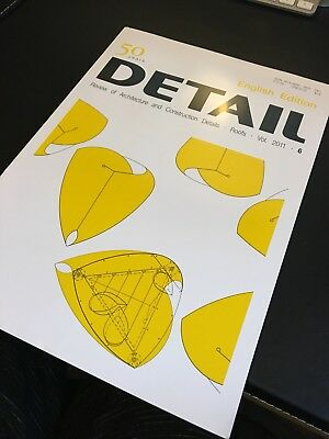 Detail Magazine - Review of Architecture & Construction. Vol 6 - Roofs