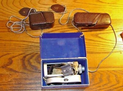 Vintage Minox Miniature Camera with Light Meter & Accessories NR
