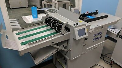 GRAPHIC WHIZARD PT 375AKF AUTOMATIC CREASING & FOLDING MACHINE, Horizon, Morgana
