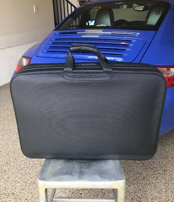 Porsche 911 40th Anniversary Edition Leather Luggage Suitcase Large New