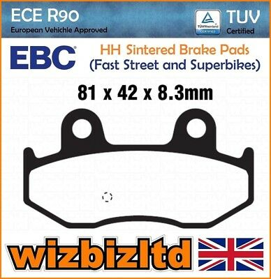 EBC Rear Sintered Brake Pads Suzuki AN 400 K1/K2 01-02 FA411HH