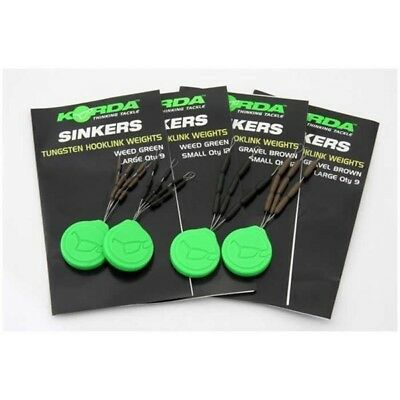 Korda Sinkers All Sizes & Colours