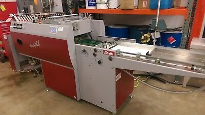PETRATTO BATFOLD HEAVY-DUTY CREASING/FOLDING MACHINE, Horizon, Morgana