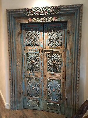 Carved Antique Doors From India