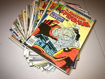 Huge Amazing Spider-Man lot of 50 issues see description for #s F average