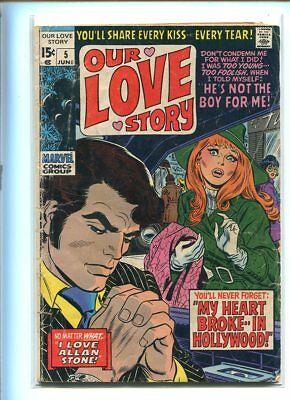 Our Love Story #5 Good Reader Classic Cover Gem