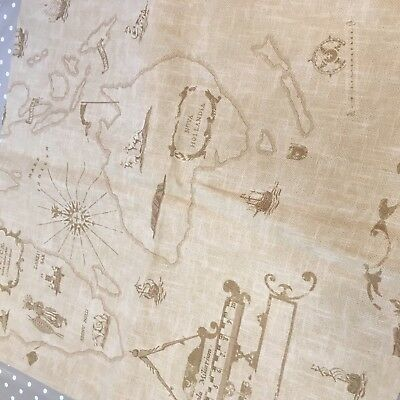 2 X ANDREW MARTIN FABRIC 'atlas' - THE ATLAS COLLECTION
